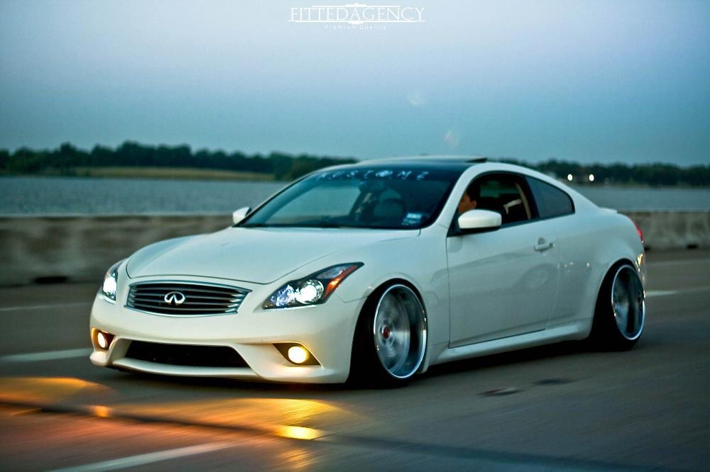 Stella X On Infiniti G37 Coupe Luxury Abstract